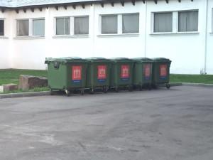 мусорные контейнеры ВДНХ